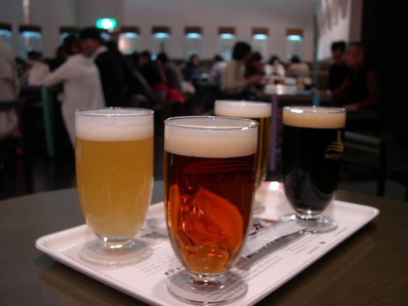 800px-Yebisu_Beer_Museum_tasting_set Berliner Weisse Summit