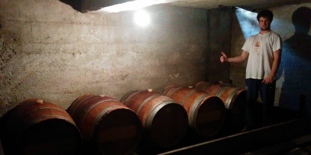Barut Brewing barrel